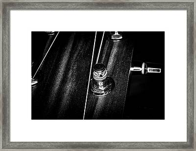 Framed Print featuring the photograph Strings Series 15 by David Morefield
