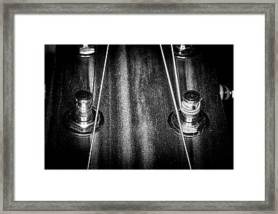 Framed Print featuring the photograph Strings Series 16 by David Morefield
