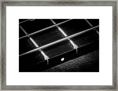 Framed Print featuring the photograph Strings Series 17 by David Morefield