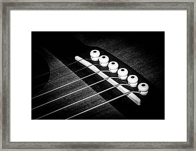 Framed Print featuring the photograph Strings Series 18 by David Morefield