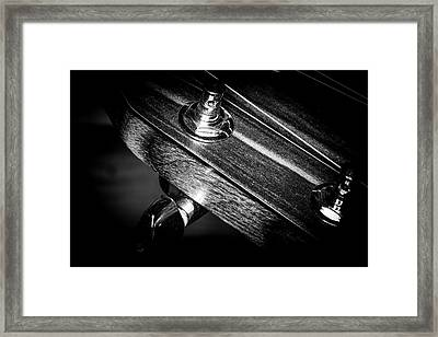 Framed Print featuring the photograph Strings Series 20 by David Morefield