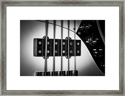 Framed Print featuring the photograph Strings Series 23 by David Morefield