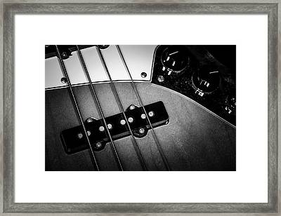 Framed Print featuring the photograph Strings Series 24 by David Morefield