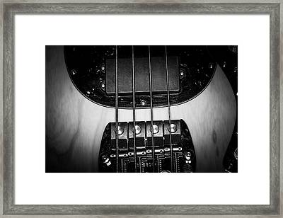 Framed Print featuring the photograph Strings Series 25 by David Morefield