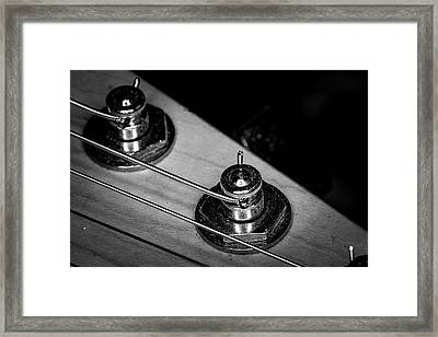 Framed Print featuring the photograph Strings Series 9 by David Morefield
