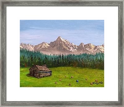Stump Framed Print