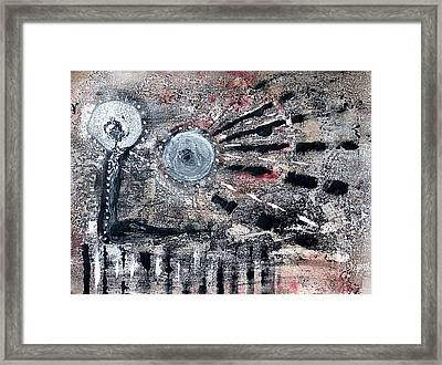 Framed Print featuring the painting Succinct by 'REA' Gallery
