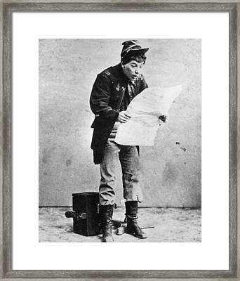 Sudden Crisis Framed Print by Hulton Archive