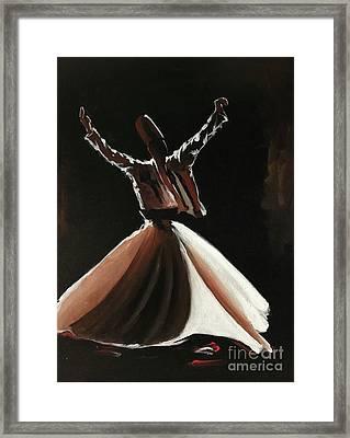 Sufi-s001 Framed Print
