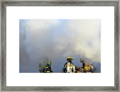 Framed Print featuring the photograph Suit Up by Carl Young