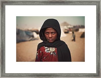 Suman Framed Print