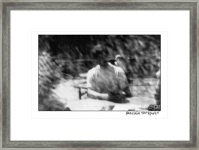 Framed Print featuring the photograph Summer Afternoon by Patricia Youngquist