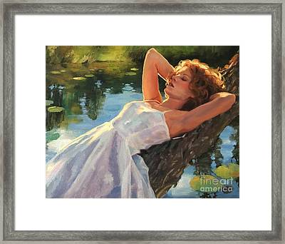 Summer Idyll Framed Print