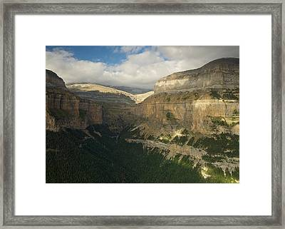 Framed Print featuring the photograph Summer Magic In The Ordesa Valley by Stephen Taylor
