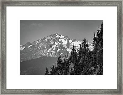 Summer Peak Framed Print