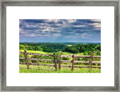 Summer Vista Framed Print