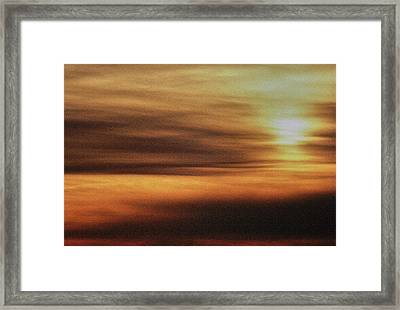 Sunburnt Framed Print