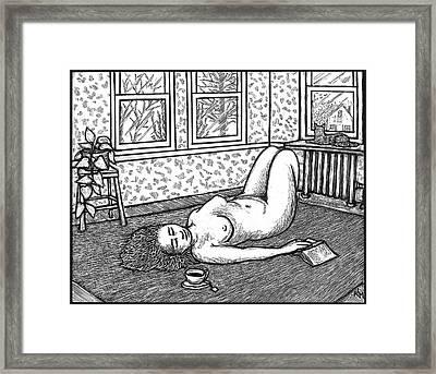 Sunday Afternoon Framed Print by Ricardo Levins Morales