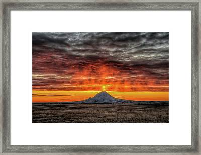 Sunday Sunrise Nov. 11, 2018 Framed Print