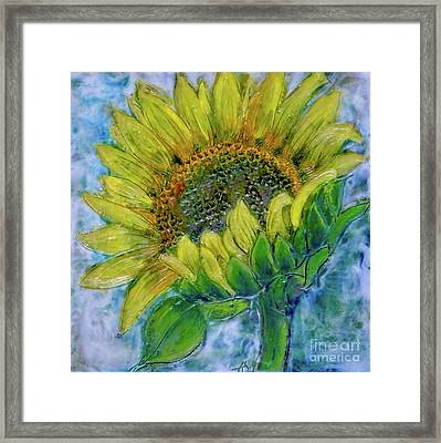 Sunflower Happiness Framed Print