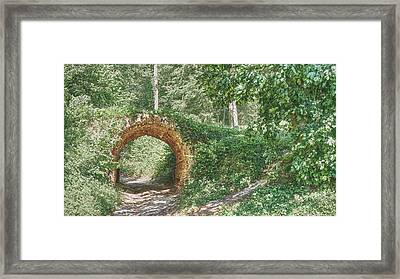 Framed Print featuring the photograph Sunny Bridge. Kachanivka, 2017. by Andriy Maykovskyi