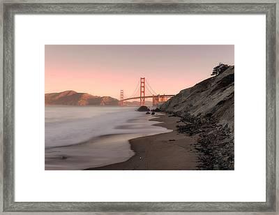 Sunrise In San Fransisco- Framed Print