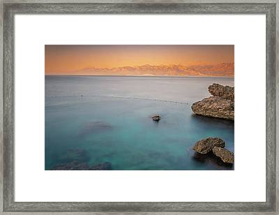 Framed Print featuring the photograph Sunrise In Turkey by Francisco Gomez