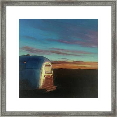 Sunrise Near Amarillo Framed Print