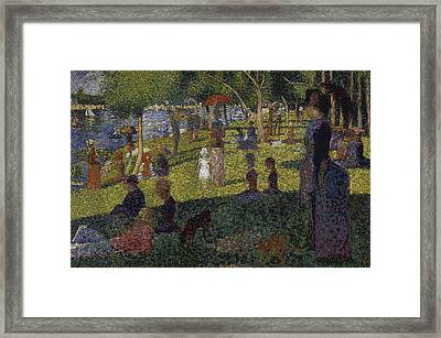 Framed Print featuring the digital art Sunset In Paris by David Bridburg