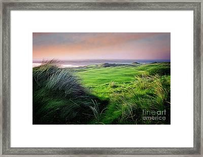 Sunset - Lahinch Framed Print