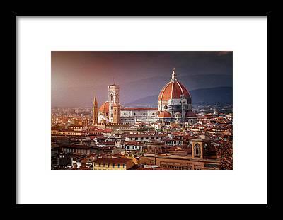Duomo Di Firenze Framed Prints