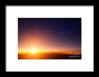 Stratosphere Framed Prints