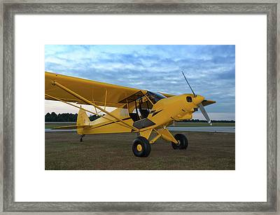 Super Cub At Daybreak Framed Print