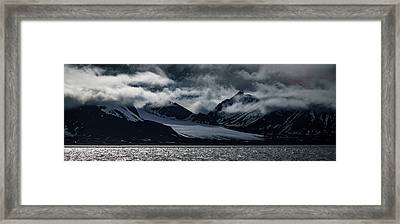 Svalbard Mountains Framed Print