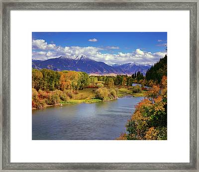 Swan Valley Autumn Framed Print