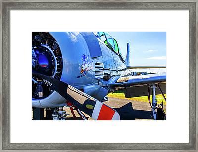 T-28b Trojan Banshee  Framed Print