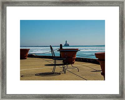 Table For One Framed Print