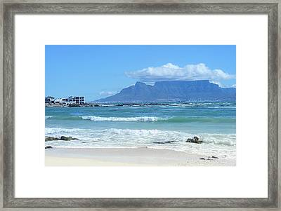 Table Mountain Cape Town Framed Print