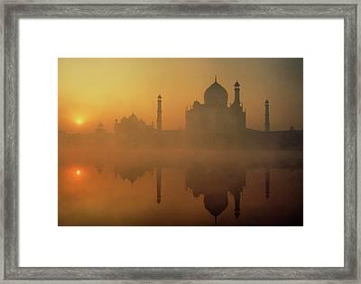 Taj Mahal Framed Print by Neal J. Wilson