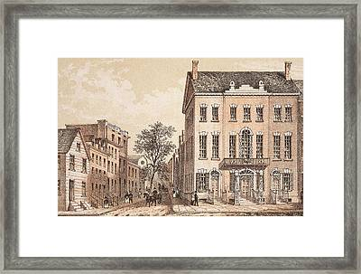 Tammany Hall Framed Print by Archive Photos