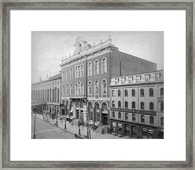 Tammany Hall Framed Print by R. Gates