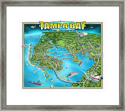Tampa Bay 2019 Framed Print