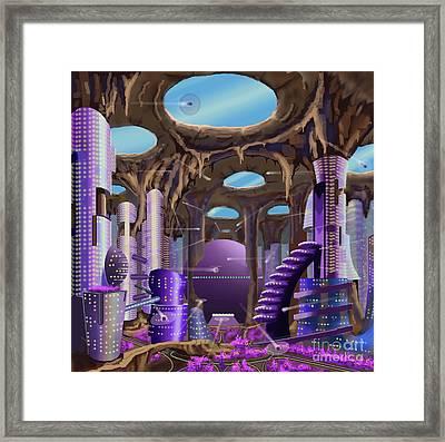Tandalo, Sferogyl's Capital Framed Print