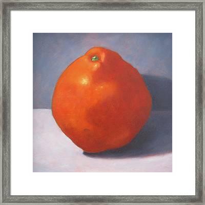 Tangello Framed Print