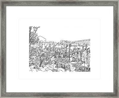 Taormina - Wunderbar Framed Print
