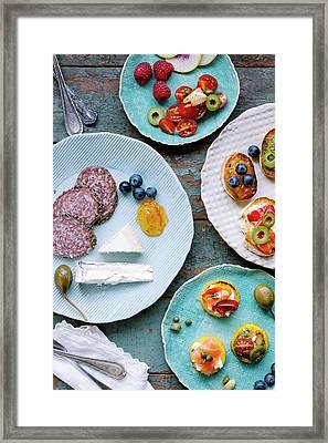 Tapas Framed Print