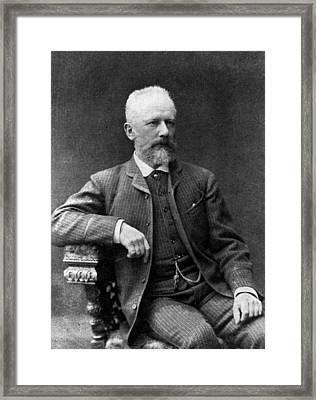 Tchaikovsky Framed Print by Hulton Archive