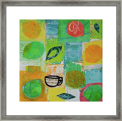 Tea Box 2 Framed Print