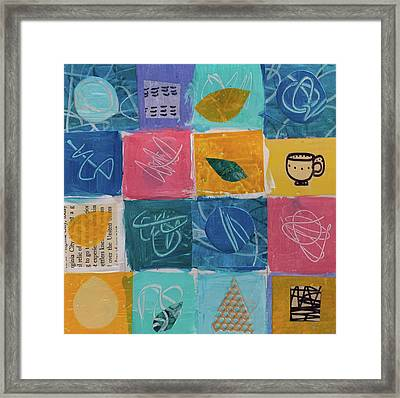Tea Box One Framed Print