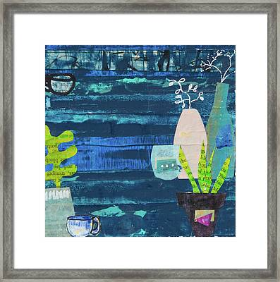 Teatime Three Framed Print